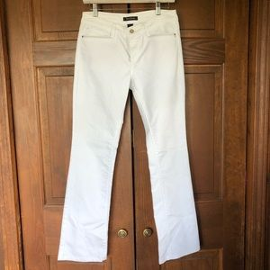 WHITE HOUSE BLACK MARKET WHITE DENIM JEANS
